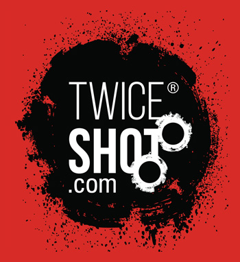 TWICE SHOT - Daryl Elliott Green Logo